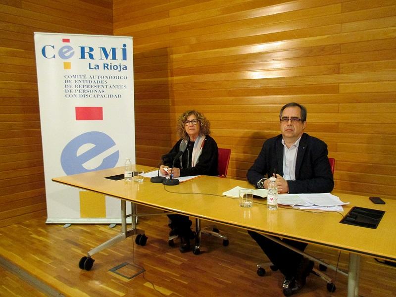 """CERMI La Rioja celebra el Día Nacional de la Convención Internacional sobre los Derechos de las Personas con Discapacidad solicitando """"concienciación a la sociedad"""""""