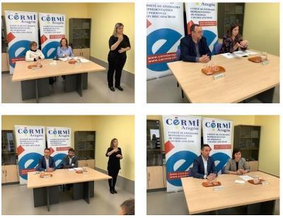 Candidatos de IU, CHA, Ciudadanos y PAR exponen sus propuestas electorales sobre discapacidad en CERMI Aragón