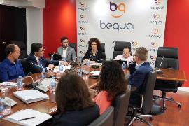 Imagen de la jornada organizada por CERMI y Fundación Bequal para analizar la Convención de Naciones Unidas sobre los Derechos de las Personas con Discapacidad y la Agenda 2030