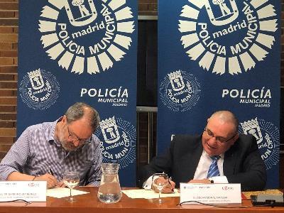 CERMI Madrid y la Policía Municipal firman un convenio en defensa de los derechos de las personas con discapacidad