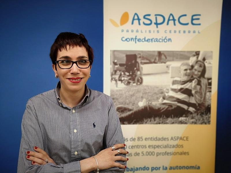 Ángeles Blanco, responsable en Derechos y Ciudadanía de Confederación Aspace