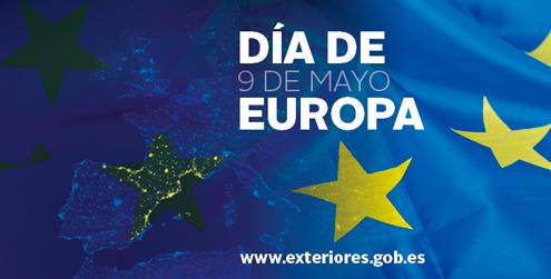 9 de mayo, día de Europa (imagen del ministerio de Asuntos Exteriores)