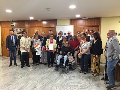 CERMI Región de Murcia muestra a representantes de los principales partidos sus reivindicaciones en materia de discapacidad para el 26-M
