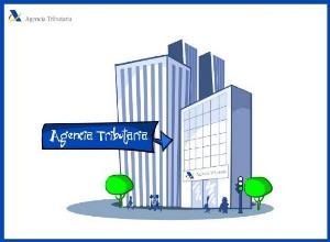 Ilustración de un edificio de la Agencia tributaria