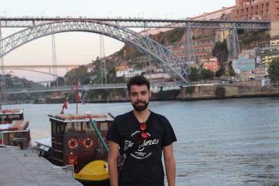 Anxo Fernández, universitario con discapacidad que estudia Psicología.