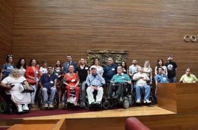 Un grupo de expertos hace una auditoría integral por la plena accesibilidad de Las Cortes valencianas