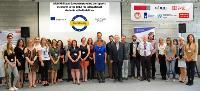 Equipo MobiAbility y resto de participantes en la reunión final del proyecto MobiAbility y Jornada de Buenas Prácticas, celebradas en Lublin, Polonia, el 6 y 7 de junio.