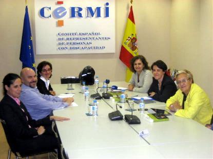 El CERMI revisa con el PSOE la agenda política en materia de género y discapacidad
