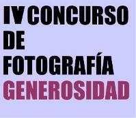 IV Concurso de Fotografía Generosidad