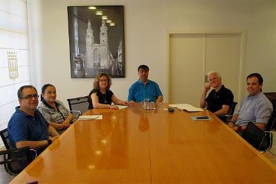 CERMI-La Rioja se reúne con el alcalde de Logroño y el concejal de Servicios Sociales y Desarrollo Comunitario