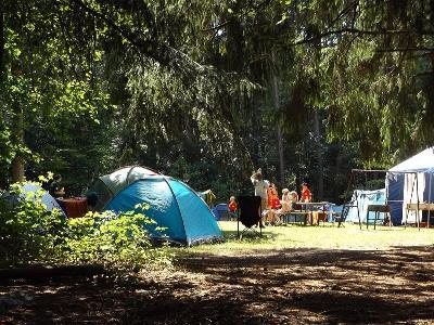Imagen de un campamento de verano