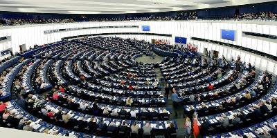Imagen durante una sesión plenaria en el Parlamento europeo