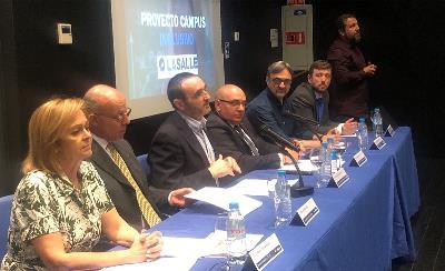 """CERMI Madrid y el CSEU La Salle Campus Madrid presentan el proyecto """"La Salle-Madrid Campus Inclusivo"""""""