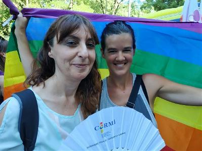 Isabel Caballero y Laura Serra, de FCM