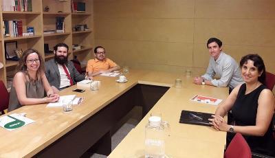 Reunión de trabajo mantenida por el CERMI con los responsables de la Oficina de Delitos de Odio del ministerio del Interior