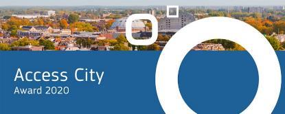 Imagen de la web del 'Access city award 2020'