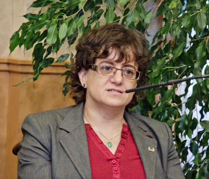 Marta Valencia, presidenta de la Comisión de la Mujer del CERMI Aragón