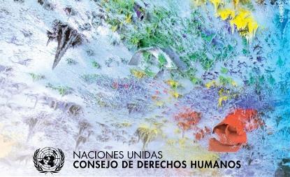 Fotografía de la web del Consejo de Derechos Humanos de Naciones Unidas
