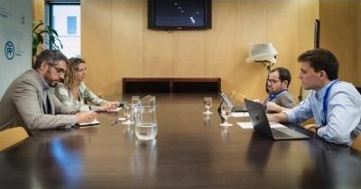 Reunión del CERMI con el Grupo Parlamentario Popular del Congreso
