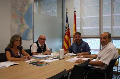 CERMI CV traslada la hoja de ruta del sector de la discapacidad al Secretario Autonómico de Igualdad y Diversidad, Alberto Ibáñez