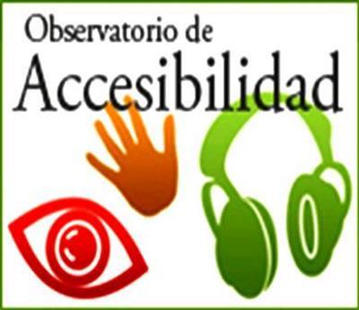 Logotipo del Observatorio de Accecisibilidad