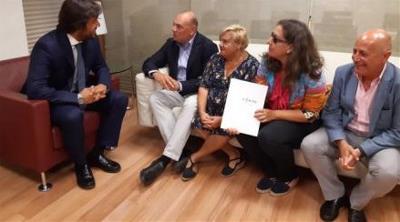 Reunión del CERMI Murcia con el Consejero regional de Empleo