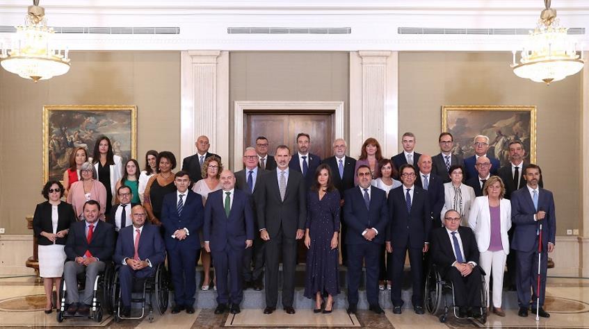 Audiencia de SSMM los Reyes al Cermi Estatal y sus Organizaciones © Casa de S.M. el Rey