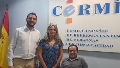 Imagen de la reunión del CERMI y del Consejo General de la Abogacía
