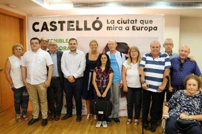 Imagen de la reunión del CERMI CV-Castellón con la Alcaldesa de Castellón