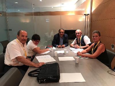 CERMI CV traslada las principales demandas del sector de la discapacidad al Grupo Parlamentario Socialista