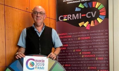 Luis Vañó, presidente de CERMI Comunidad Valenciana