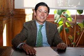 Borja Fanjul, presidente del Pleno y concejal del PP del Ayuntamiento de Madrid