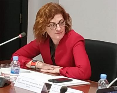 Maite Pagazaurtundúa,eurodiputada del Grupo de la Europa Renovada