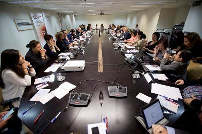 Reunión ordinaria del Comité Ejecutivo en la sede del Ayuntamiento de Madrid
