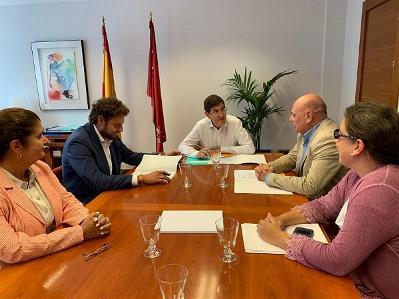 Reunión de CERMI Región de Murcia (CERMI RM) y representantes de la Consejería de Salud