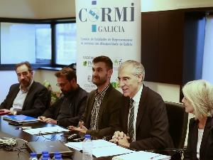 Reunión de CERMI Galicia y representantes de la Xunta