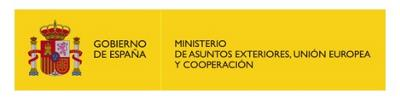 Logotipo del Ministerio de Asuntos Exteriores, Unión Europea y Cooperación