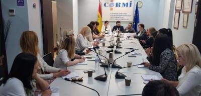 Imagen de la reunión del CERMI con representantes del Gobierno serbio