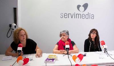 Ruth Vidriales, Pilar Rodríguez y Elena Antelo