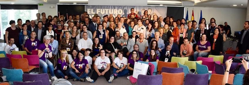 Foto de familia en la Convención CERMI 2019