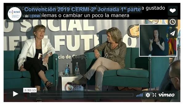 Imagen que da paso a la Grabación audiovisual de la Convención CERMI 2019 'El futuro de lo social (lo social tiene futuro)' 2ª jornada, 1ª parte