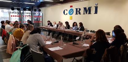 Cuarta reunión del comité de participación de la Fundación CERMI Mujeres