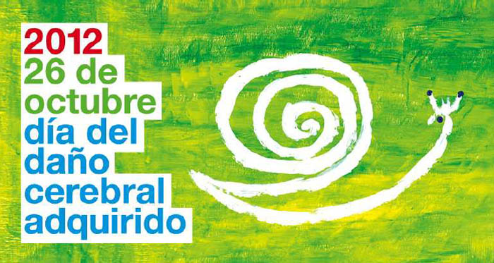 Cartel de FEDACE en el Día del Daño Cerebral Adquirido