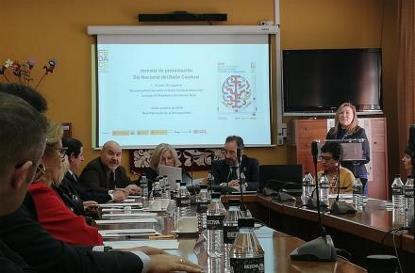 El CERMI en el acto de conmemoración del Día Nacional del DCA, en la sede del Real Patronato sobre Discapacidad en Madrid, con Fedace