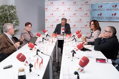 Imagen durante la Mesa CERMI sobre Trabajo/Pensiones