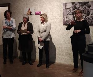 Inauguración de la exposición fotográfica 'El Derecho a la Maternidad de las Mujeres con Discapacidad'
