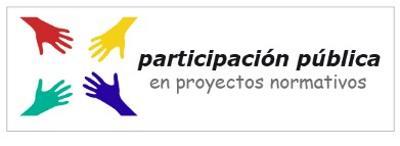 Ilustración sobre la participación pública en proyectos normativos