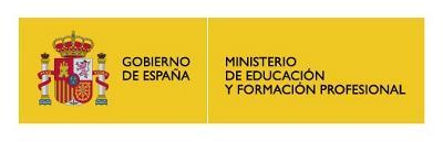 Logotipo del Ministerio de Educación y Formación profesional
