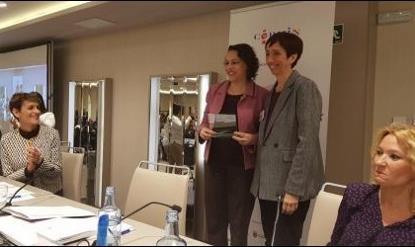 Entrega a Magadalena Valerio del Premio Cermi.es categoría Mujer con Discapacidad
