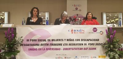 III Foro Social de Mujeres y Niñas con Discapacidad